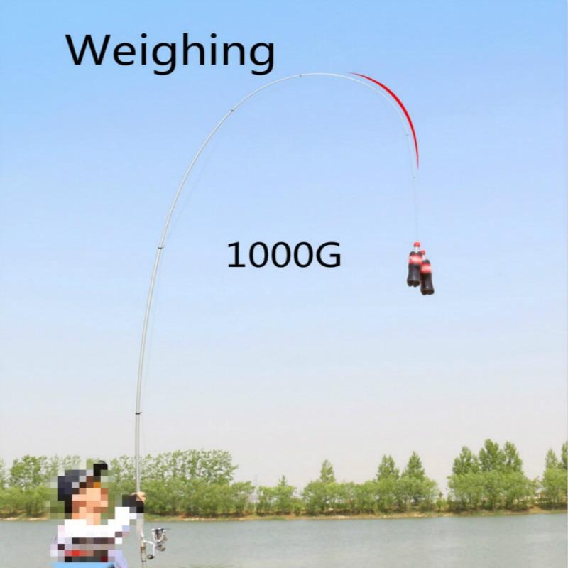 Hoge Carbon Rock Hengel Superhard Vissen Stok Super Licht Hand Rod Zee Pole Telescopische Hengel Pesca 3.6 m 4.5 m 6.3 m - 6