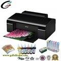 Оригинал 100% Новый для Epson A4 Photo T50 Принтеров Сублимации Принтер + СНПЧ + чернила Сублимации + Сублимации Paoer
