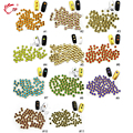 200 unids/pack Belleza 3mm Materiales ecológicos de Alta Calidad Corea Piedra Rhinestone Del Arte Del Clavo de Manicura de La Decoración
