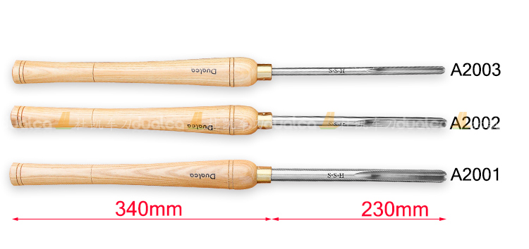 A2001 A2002 A2003 Bowl Gouge Set Wood Lathe Turning HSS Woodturning Woodworking