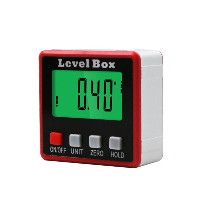 Buscador del ángulo del transportador Digital caja de nivel inclinómetro Digital herramienta de medición de ángulo con Base magnética portátil Mini cámara para niños, juguetes educativos para niños, regalos para bebé, cumpleaños, cámara Digital de regalo, proyección de 1080P, videocámara