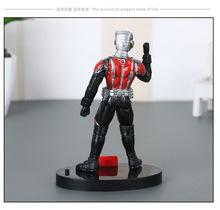 Mini Marvel Avengers Ant man Antman Action Figures 10cm Ant-man and the Wasp Figure With Base Model Collection Figures Kids Toys