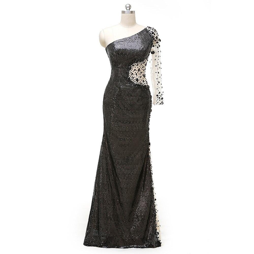 Femmes noir robes de bal 2018 Vestido de Festa Cap manches robe de Cocktail longues robes de bal robes d'occasion spéciale
