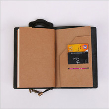 Quality Leather Cover Traveler's Notebook Diaries Magazine Retro Handmade