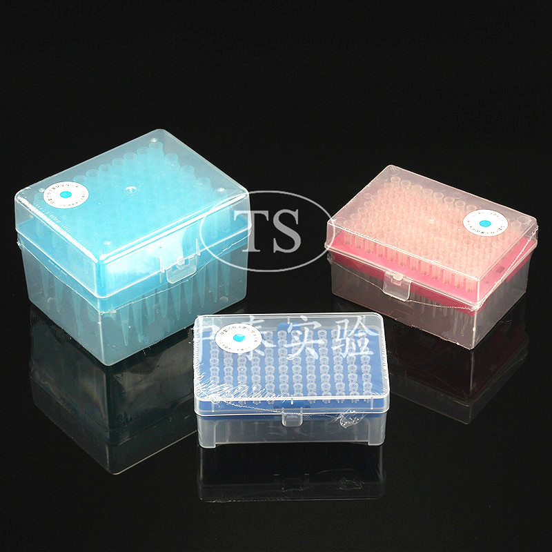 Disposable Sterile Pipette Tips With Box, PP Tip White 5*32mm/yellow 5.5*50mm/blue 8*71mm, Universal Tip For 10ul/200ul/1000ul
