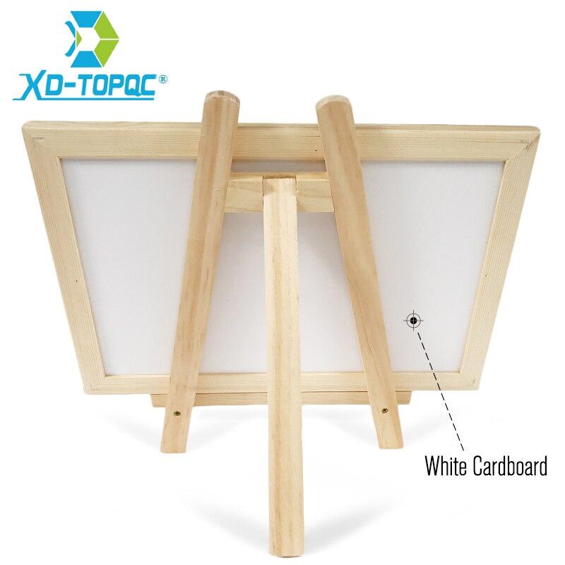 XINDI Neue 20*30 cm Tafel Holz Staffelei Tafel 11 Farben Holz Rahmen ...
