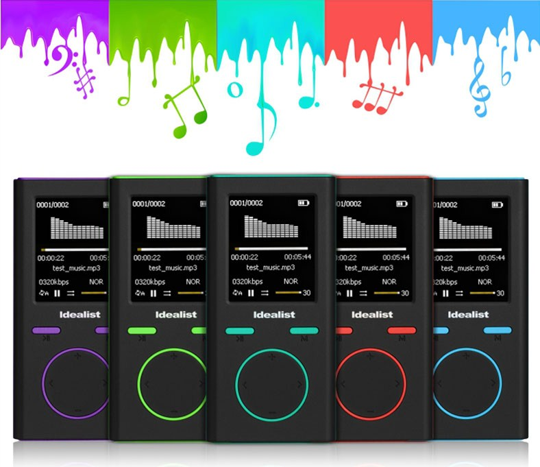 Original English version mp3 player 4GB S1811 APE FLAC WAV High Sound Quality Entry level Lossless