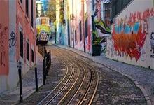 Laeacco Graffiti Wall Corner Way City Portrait Scenic Photographic Backgrounds Photography Backdrops For Photo Studio