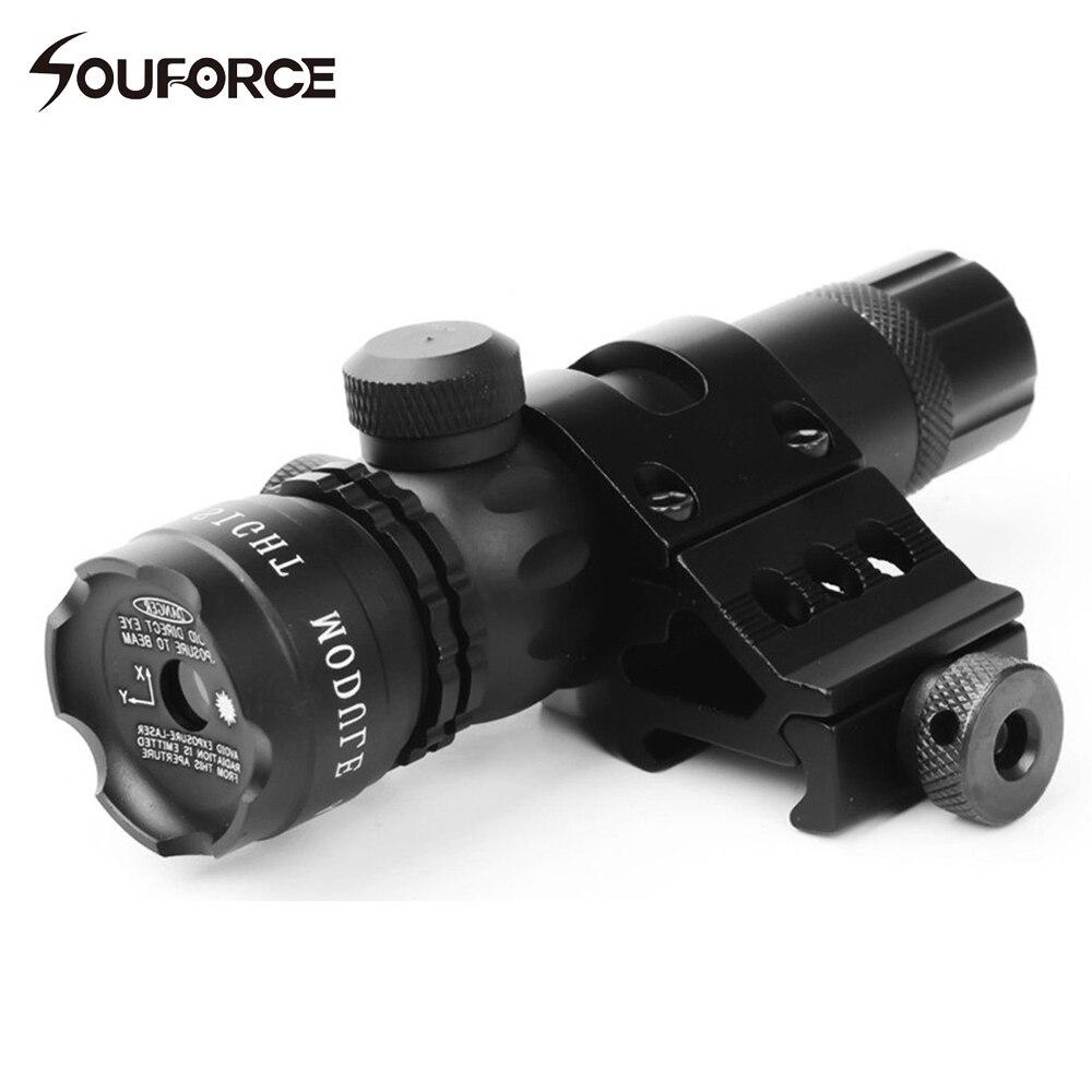 Caça tático Mira Laser Verde Com Interruptor Remoto e Interruptor Offest Montar para Rifle de Caça Acessórios