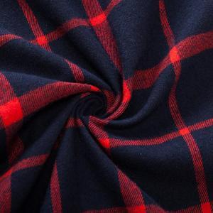 Image 5 - Fredd Marshall 2018 jesień podwójna w całości zapinana na guziki kieszenie koszula w kratę z długim rękawem casualowa łatka koszule męskie regularny krój Plus rozmiar 172