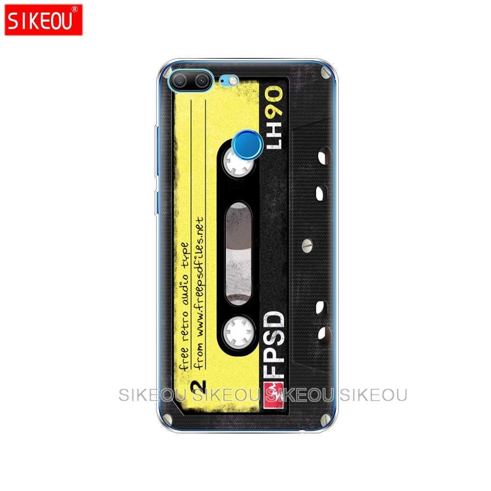 Silicone Housse De téléphone étui pour huawei Honor 10 V10 3c 4C 5c 5x 4A 6A 6C pro 6X7X6 7 8 9 LITE Cassettes Boombox Clavier