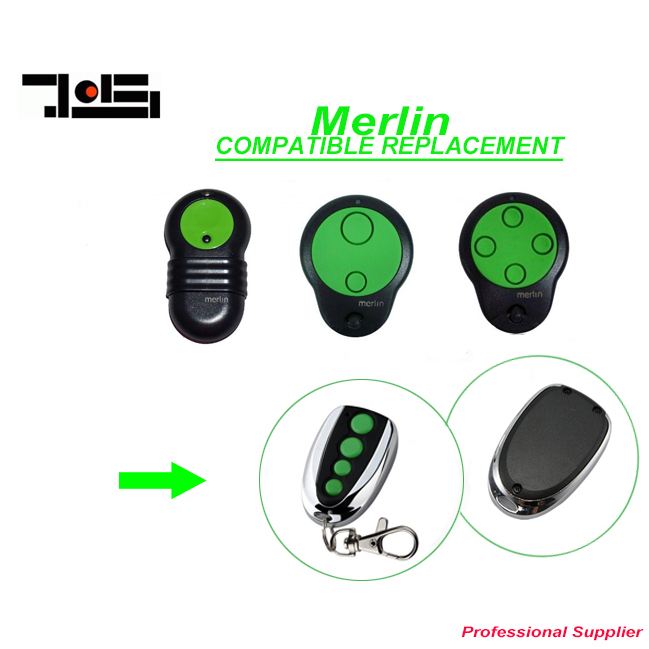 цена Merlin M832 M842 M844 garage door 230t 430r replacement remote control free shipping