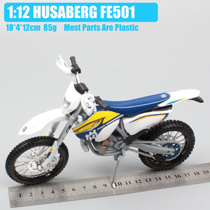 Image 2 - maisto 1/12 2015 KTM Motorcycle scale HUSABERG FE 501 Husqvarna FE501 Dirt Bike Motocross Diecast & vehicles metal car model toy