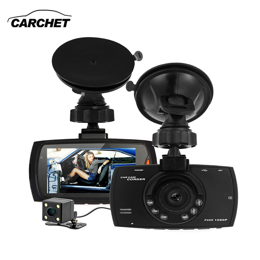 CARCHET 2.7 Inch Full HD Car DVR Wide Angle Rear Camera Digital Video Recorder Night Vision Dash Cam 140 Degree CMOS Sensor NEW new arrival 2 7 inch ambarella a7 car camera dvr recorder g90 hd 170 degree wide viewing angle g sensor night vision