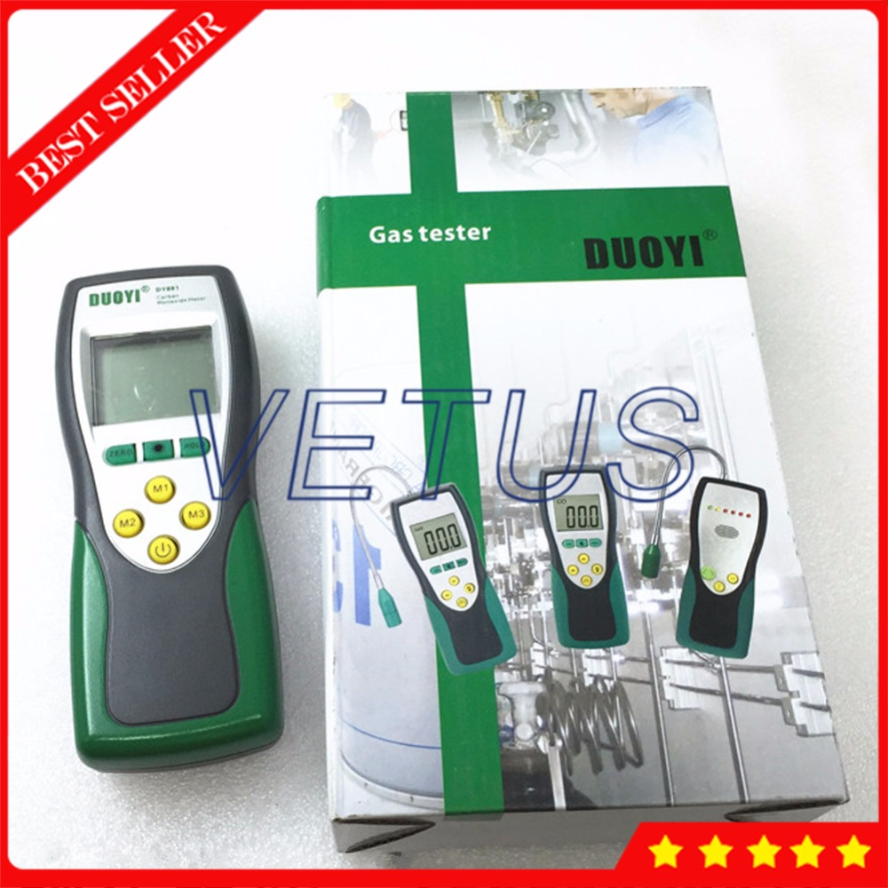 DY881 6999 counts Portable Carbon Monoxide Gas Price for CO Detector Meter Tester