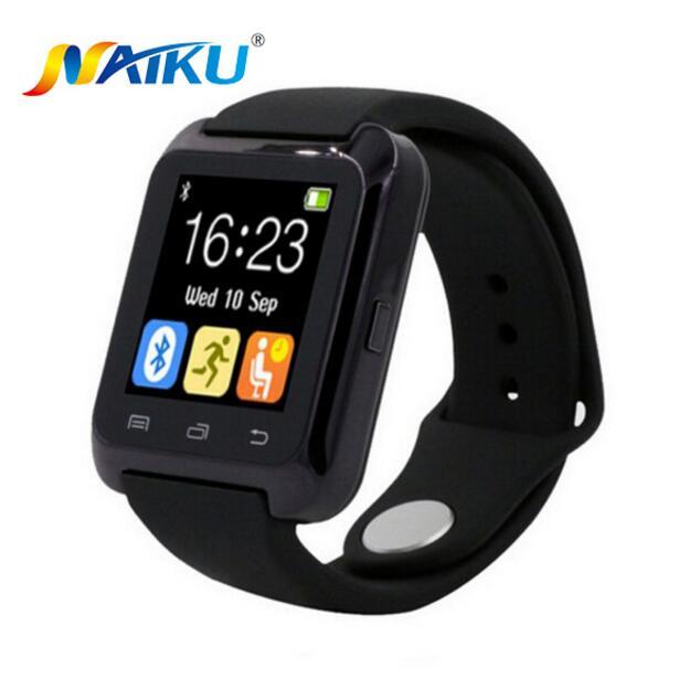 imágenes para U80 Smartwatch Bluetooth Reloj Inteligente para iPhone IOS Android Smart Phone Desgaste Reloj Usable Dispositivo Smartwach PK U8 GT08 DZ09