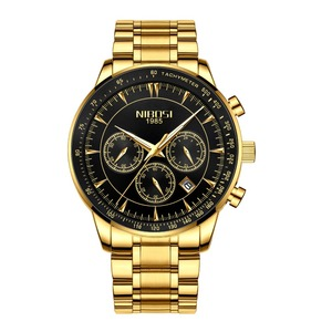 Image 2 - NIBOSI Men Watch 2019 Military Waterproof Date Mens Watches Top Brand Luxury Chronograph Creative Watch Men Relogio Masculino