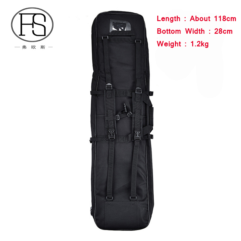 About 118cm Tactical Outdoor Hunting Backpack Military Hunting Rifle Backpack Sports Bag Fishing Hiking Nylon Shoulder Bag
