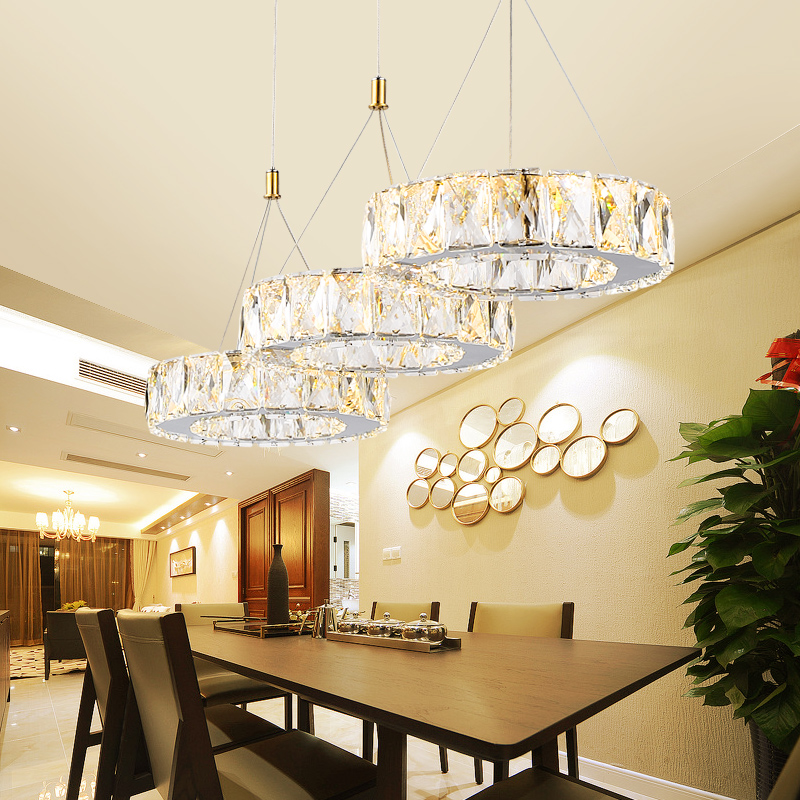 Restaurant chandeliers three rectangular modern minimalist atmosphere dining chandeliers bar restaurant led lighting fixture led стабилизатор ippon avr 3000