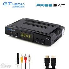 GTmedia Freesat V7 Receptor de Satélite Digital TV Tuner DVB-S2 HD Decodificador AC3 Jogador Wifi Suporte USB PVR VU Cccam Biss captura
