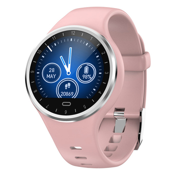 M8 1.22 אינץ IPS צבע מסך smart watch ספורט בריאות לב קצב דם לחץ דם חמצן ניטור ללבוש תמונה שעון