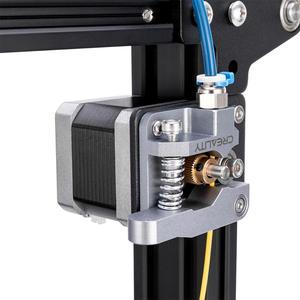 Image 2 - CREALITY 3D New Metal MK8 Gray Color Extruder Aluminum Alloy Block Bowden Extruder 1.75mm Filament For Ender CR Series Printers