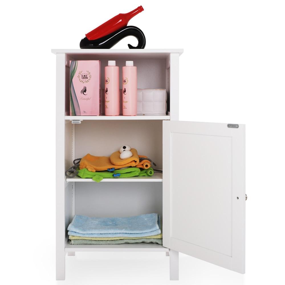 FCH une porte salle de bain rangement plancher armoire moderne mur obturateur porte salle de bains organisateur bois placard étagère meubles de maison