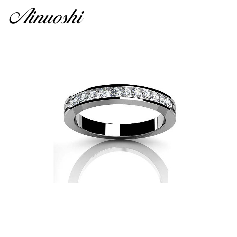 100% 925 Sterling Silver Wedding Engagement Ring for Women NSCD Ring  Fashion Jewelry Gift for Young Girl Birthday Proposal Gift de38ba929780