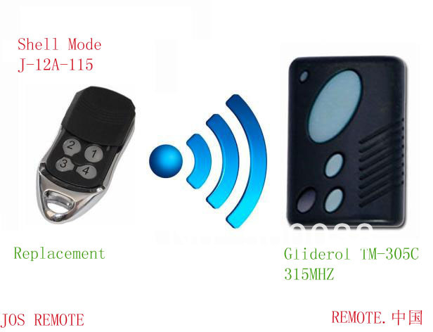 New Arrive Compatible With Gliderol Tm 305c315mhz Remote Opener
