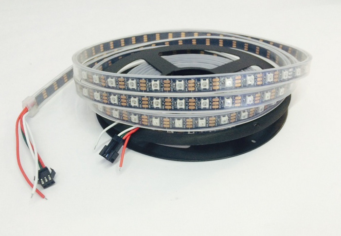 WS2812B ws2812 30/60/144 pixels 5050 rgb individually addressable led strip light full color tape lanp IP30/IP67 waterproof DC5V