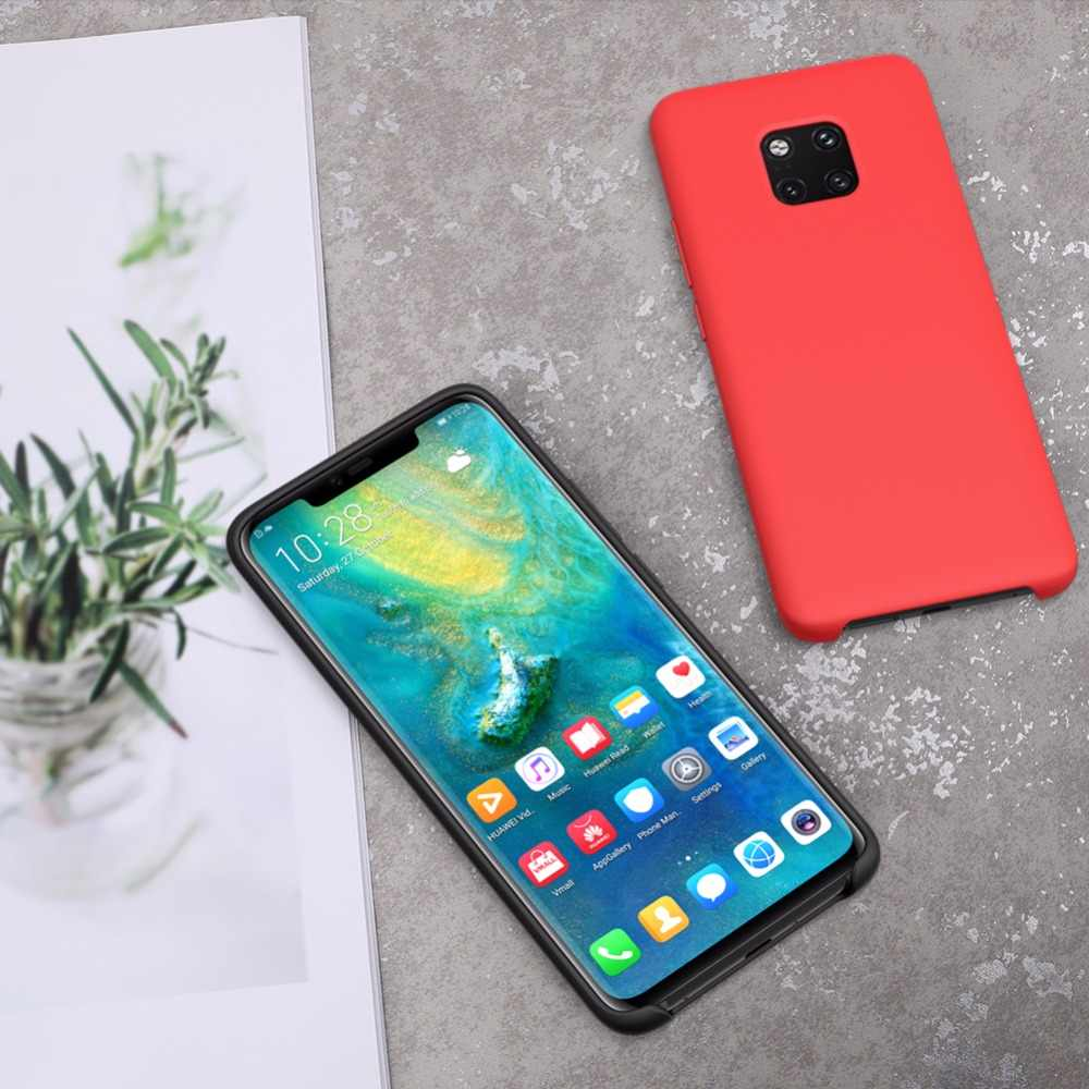Yezaoo حافظة لهاتف Huawei زميله 20 لايت حالة واقية لينة سيليكون السائل غطاء لهواوي زميله 20 حالة زميله 20 الموالية 20X X الحالات