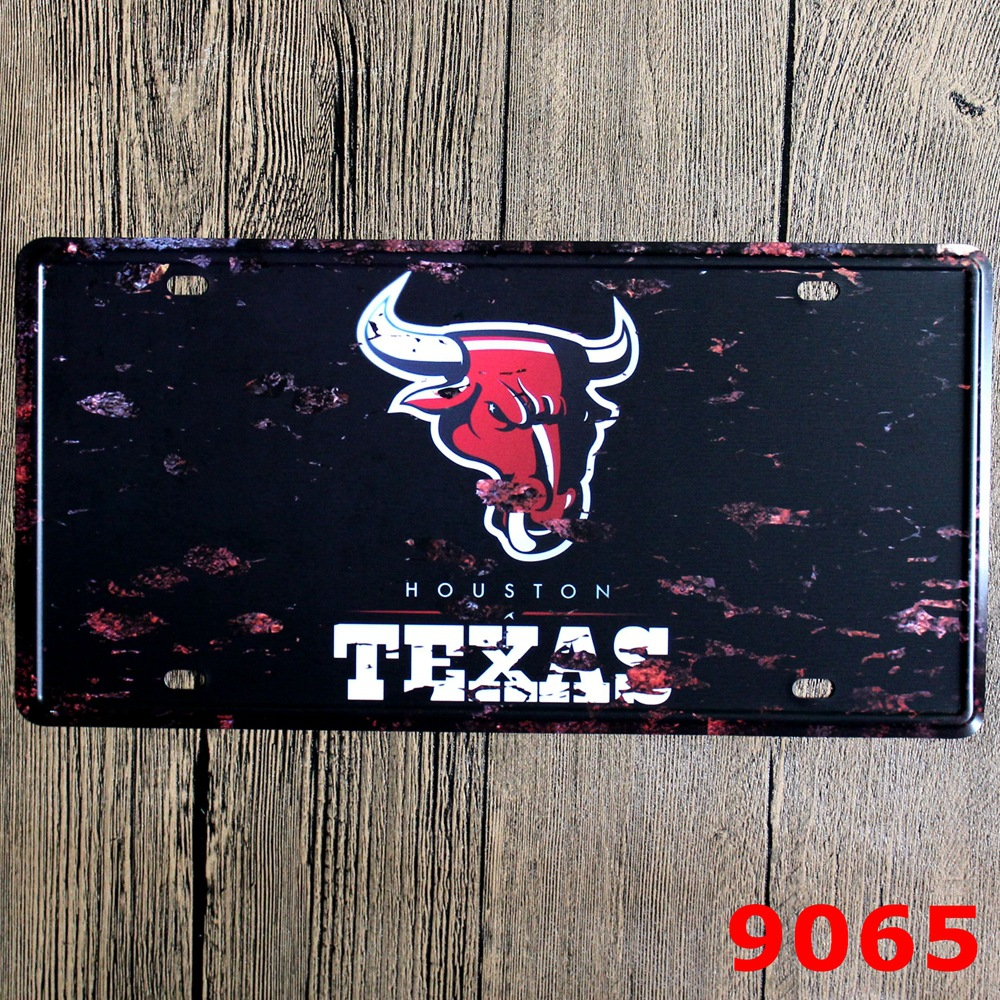 30X15CM TEXAS Vintage Home Decor Tin Sign for Wall Decor Metal Sign ...
