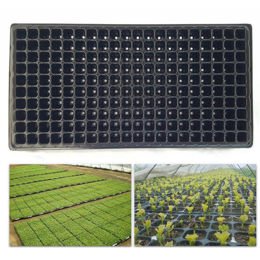 1set Multi-Function Storage 200 Cell Plant Grow Organic Nursery Pots Plant Propagation Planting Seedings Seedling Tray