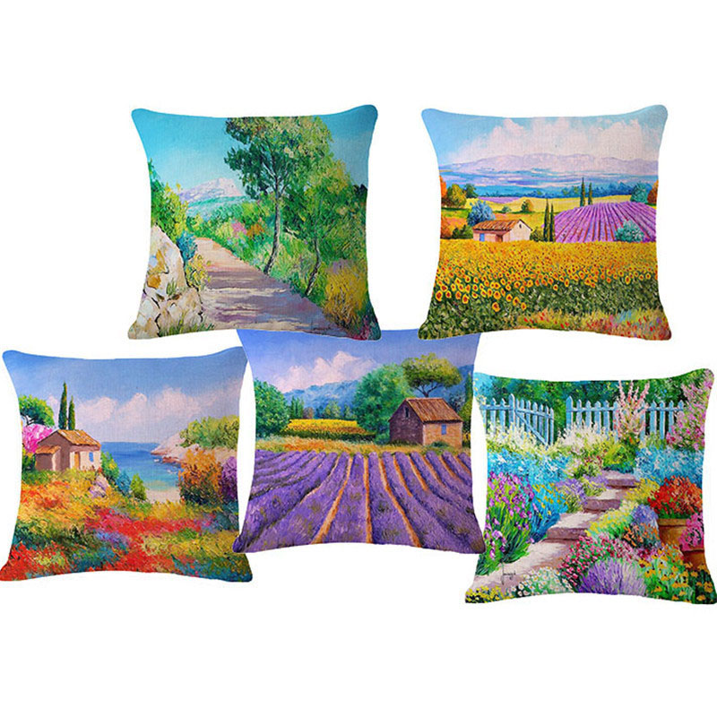 3D flower cushion without inner home decor for cojines sofa 45x45cm hot sale Car Sofa Throw Pillow Decoration Pad