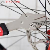BIKEHAND YC 165 MTB Bike Disc Rotor Flattening Tool Bicycle Brake Disc Adjustor Bike Disk Tray
