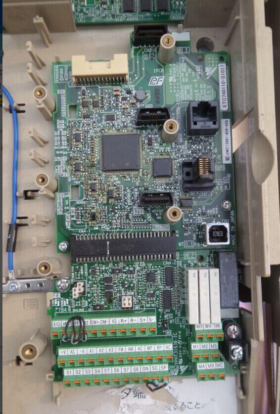 ETC740110-S101 inverter A1000 series motherboard CPU board panel IO board цена и фото