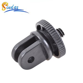 DVR car suction cup adapter Mini Tripod Monopod Mount Adapter for Car suction cup Adapter Black For Gopro Xiaomi yi sj7000 image