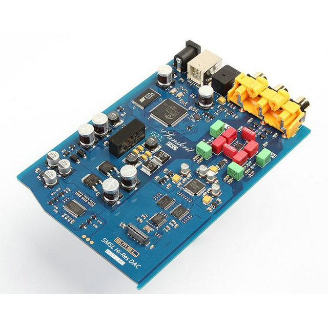 SMSL Sanskrit-PRO DAC Digital to Analog Converter Support 32bit/384KHz DSD512 Decoding USB/Optical/Coaxial Input 4