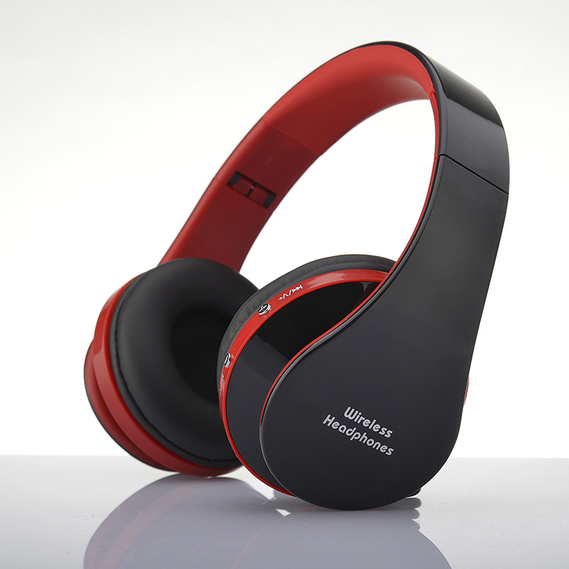 Wireless Bluetooth Headphones Game Headset V3.0+EDR Microphone For iPhone Samsung HTC LG &PC Tablet Laptop Foldable