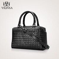 Luxury Handbags Women Bags Designer 100% Sheepskin Genuine Leather Corssbody Hand woven Soft Large Capacity Handbags