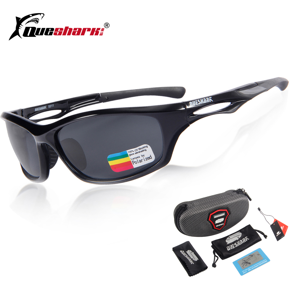Queshark Polarized Cycling Glasses Sport Sunglasses Gafas Ciclismo Road Mountain Bike Riding Bicycle Goggles Cycling Eyewear