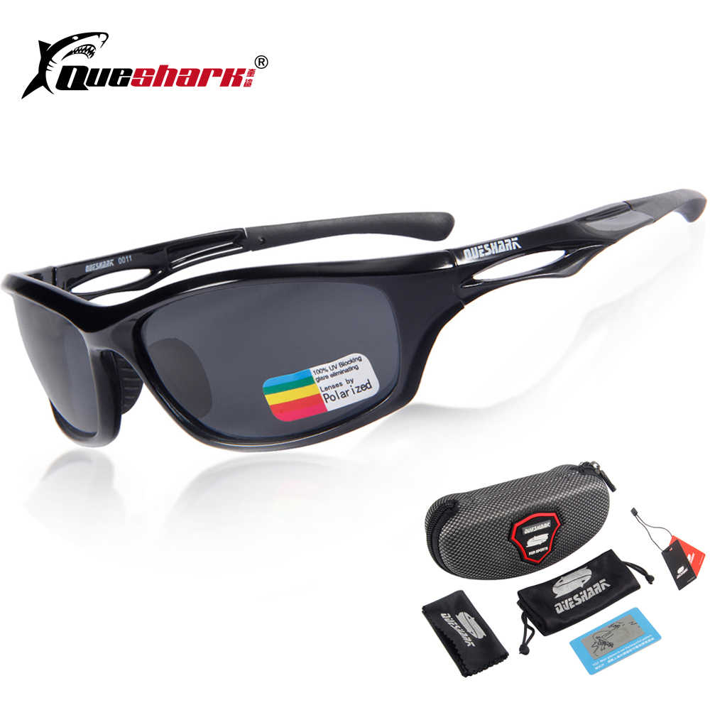 f5871b89fcd Queshark Polarized Cycling Glasses Sport Sunglasses Gafas Ciclismo Road Mountain  Bike Riding Bicycle Goggles Cycling Eyewear