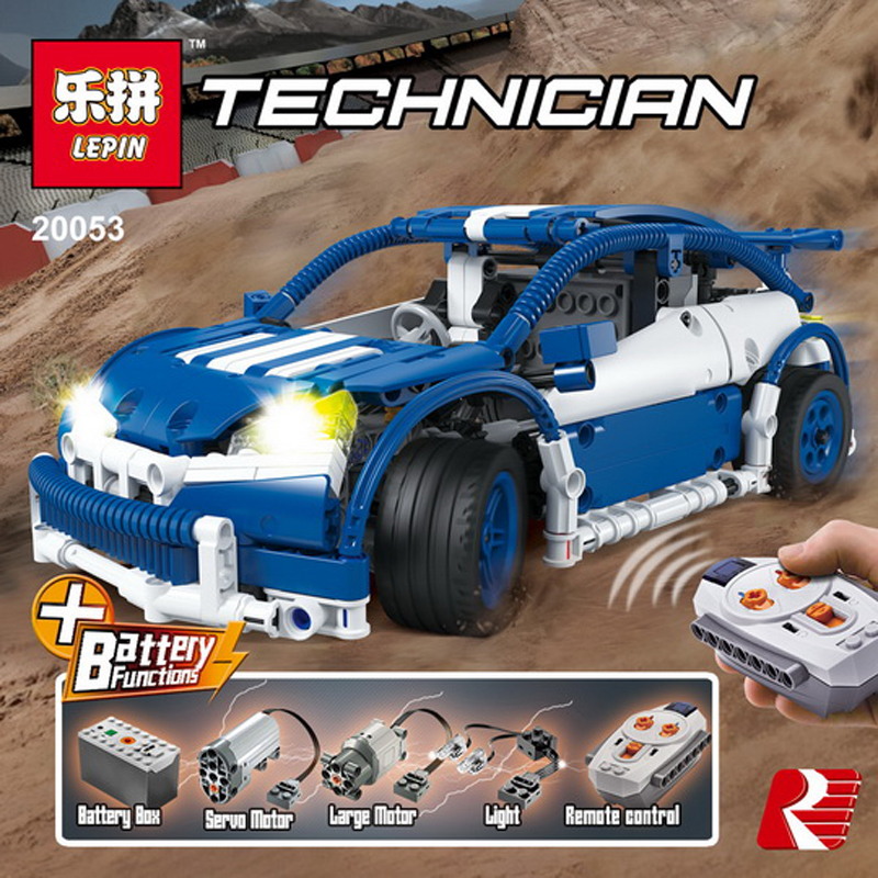 Lepin 20053B 640Pcs Genuine Technic Series The Hatchback Type R Set MOC-6604 Building Blocks Bricks Educational legoing Toy Gift