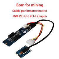 SUQIAO MiNi PCI E To PCI E 1X Adapter Card 1 Drag 2 High Performance Expansion