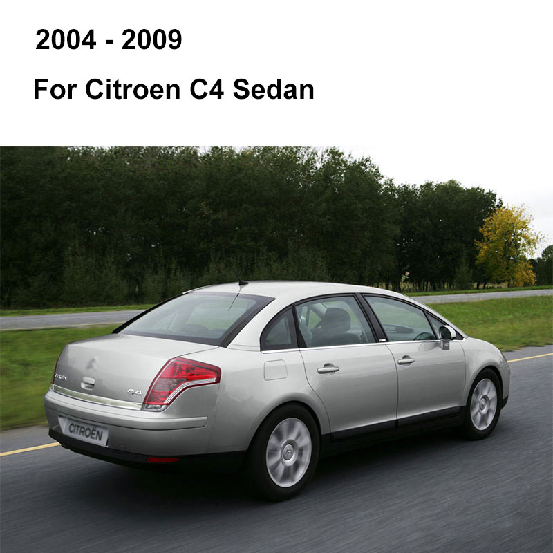 REFRESH Щетки стеклоочистителя для Citroen C4 Hatchback / Coupe / Sedan / Aircross Fit Pinch tab / Push Button / Hook Arms с 2004 по год - Цвет: 2004 - 2009 (Sedan)