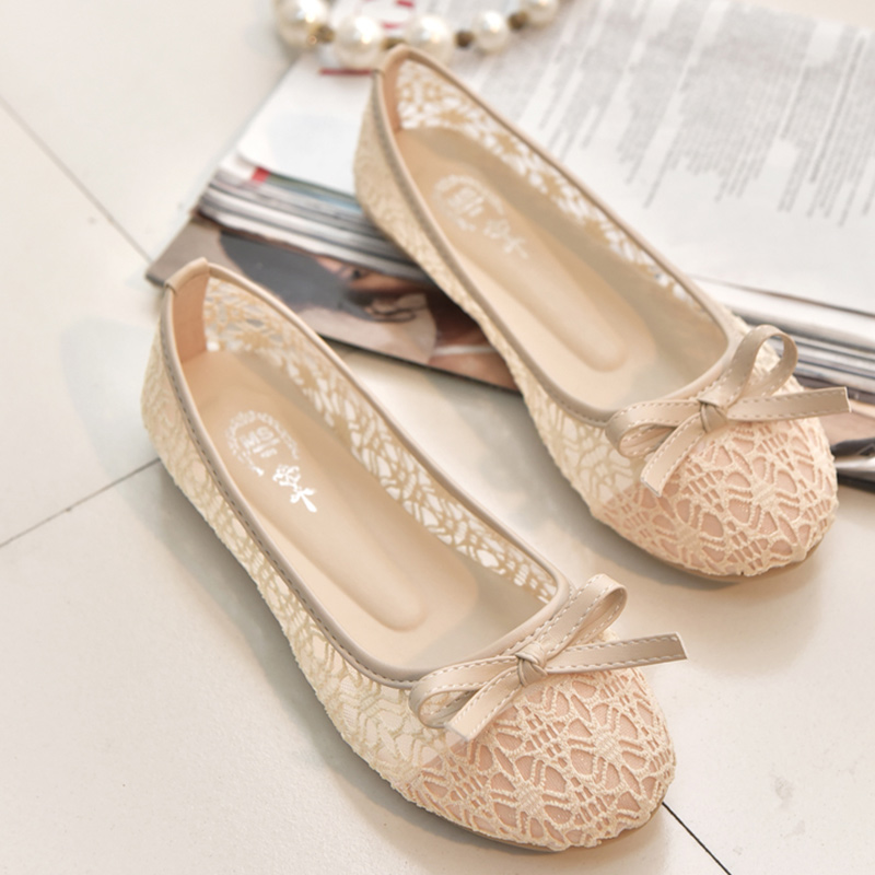 2018 new women flats shoes ballet flats Fashion slip on cut outs flat women shoes sweet hollow summer female shoes casual shoes 2018 new boat shoes sheepskin leather pregnant women shoes summer flat bowknots royal blue plus size 40 41 ballet flats female