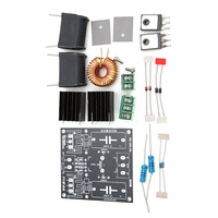 New Arrival 1 Set DIY ZVS Coil Power Supply Boost Voltage Generator Drive Board Induction Heating