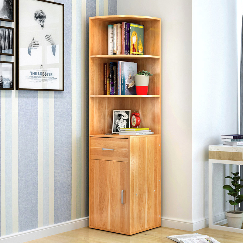 LK1683 Simple Wooden Bookcase Creative Multifunction Storage Rack Large Capacity Storage Cabinet Home furniture цены