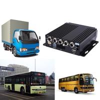 SW 0001A Realtime Video Audio Recorder SD Card Auto Car Bus Mobile DVR 4CH Input Digital