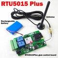 Além de RTU5015 GSM Remoto placa com duas entradas de alarme e um saída de relé Livre de Chamadas e SMS de controle Compatível RTU5024 com app